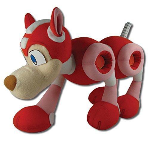 """Great Eastern Mega Man 10 9"""" Robot Dog Rush Plush front-141600"""