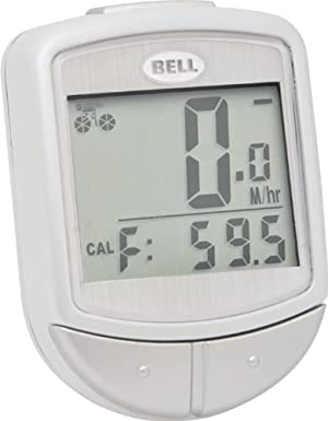 Bell Automotive Products Bell Digital Wireless F15 Cyclocomputer (White) at Sears.com