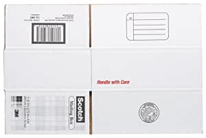 Scotch Mailing, Moving, and Storage Box, 11-1/4 Inches x 8-3/4 Inches x 4 Inches,12-Pack (8005)