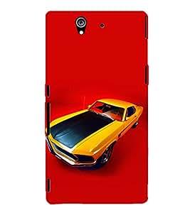 EPICCASE camero Mobile Back Case Cover For Sony Xperia Z (Designer Case)