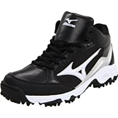 Mizuno Mens 9-Spike Blast 3 Mid Baseball Cleat by Mizuno