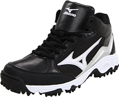 Buy Mizuno Mens 9-Spike Blast 3 Mid Baseball Cleat by Mizuno