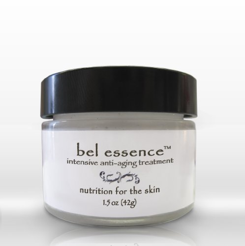 Bel Essence Intensive Anti Aging Treatment - All-Natural Cream For Erasing Wrinkles. Lift, Firm, Tighten Facial Skin And Fade Fine Lines - 1.5Oz