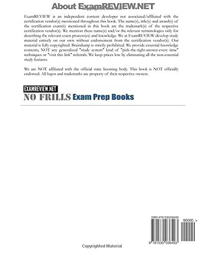 California Law & Business Construction License Exam ExamFOCUS Study Notes & Review Questions 2016/17 Edition