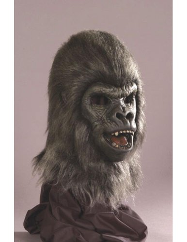 Scary-Masks Ape Halloween Costume - Most Adults