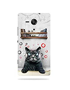 alDivo Premium Quality Printed Mobile Back Cover For Sony Xperia SP / Sony Xperia SP Back Case Cover (MKD108)
