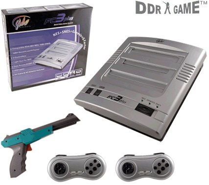 Nes/Snes/Genesis Fc3 Plus Gaming System front-336945