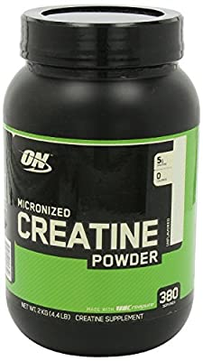 Optimum Nutrition Creatine Powder (4000 Grams (4 Kilo Super Size)) by Optimum Nutrition