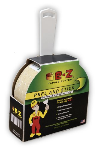 E-Z Taping System 99125 125-Feet x 1.89-Inch Peel and Stick Drywall Finishing Tape, 1-Pack