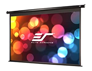 Elite Screens Spectrum, 128-inch 16:10, 4K Home Theater Electric Motorized Drop Down Projection Projector Screen, ELECTRIC128X
