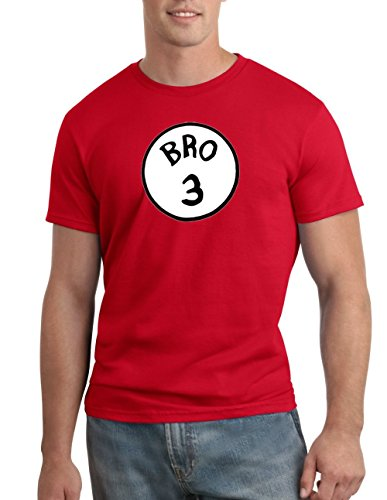 Bro 3 Halloween Funny Dr. Seuss T-shirt Group Costume Tee