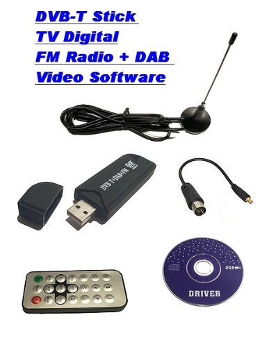 gixa technology tv digital fm radio dvb t dvbt usb 2 0 stick tv digital fernsehen mit radio. Black Bedroom Furniture Sets. Home Design Ideas
