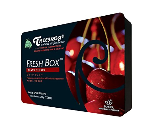 Treefrog Natural Air Freshener, Black Cherry Scent