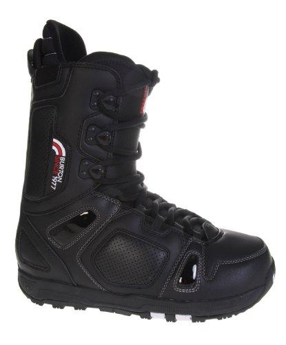 Burton Freestyle Snowboard Boots Black/Black Mens Sz 7