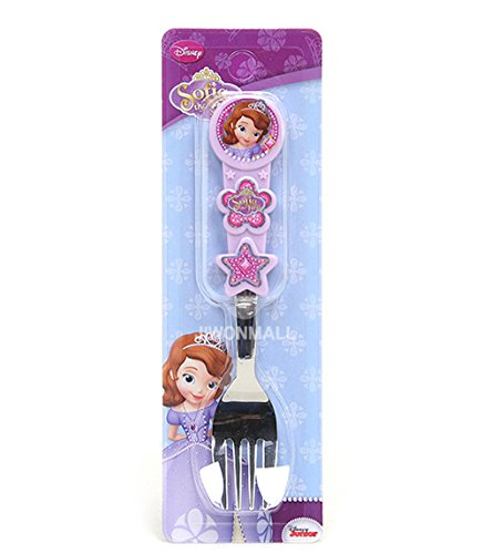 Disney Little Princess Sofia Kid Children 3D Handle Fork 040192 - 1