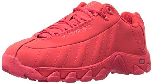 K-Swiss Men's ST329 Mono CMF Cross-Trainer Shoe, Fiery Red/Fiery Red, 11 M US