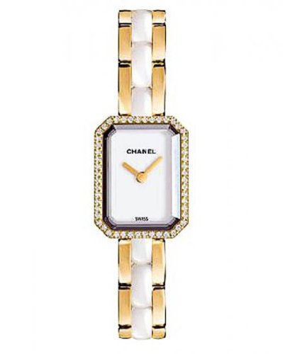 Chanel Premier 18kt Yellow Gold and Diamonds Ladies Watch H2435