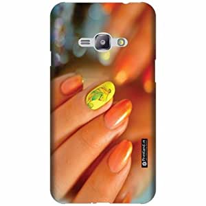 Printland Back Cover For Samsung Galaxy J1 Ace - Silicon Nail Color Designer Cases