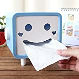 Angle Simple JA-001 Novelty Gift Cartoon Shaped Tissue Box Cover Sky Blue