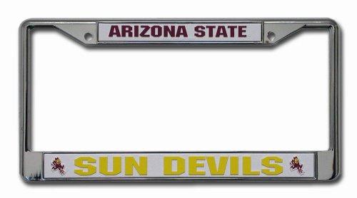 Rico Industries Ncaa Arizona State Sun Devils Chrome Plate