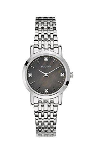 bulova-diamond-reloj-de-mujer-de-cuarzo-con-negro-esfera-analogica-pantalla-y-pulsera-de-acero-inoxi