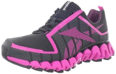 Reebok Women's Zigwild TR 2 Running Shoe,Gravel/Dynamic Pink/White/Black,6 M US