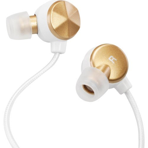 Altec Lansing Mzx236Gd Bliss Silver Series Headphones - Gold/White
