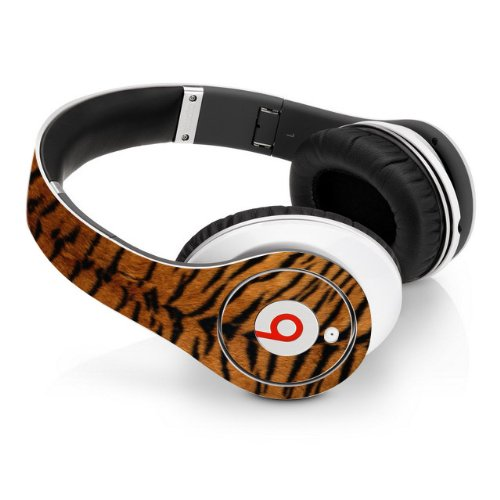 Beats Studio Full Headphone Wrap - Tiger Print (Headphones Not Included)