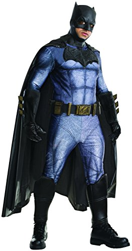 Rubie's Men's Batman v Superman: Dawn of Justice Batman Costume, Multi, X-Large