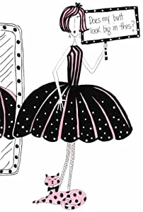 Amazon.com - Dolly Mama Does My Butt Look Big? Rubber Stamp