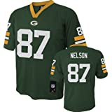 Jordy Nelson Green Bay Packers Youth Green Jersey