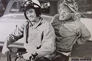 Dumb and Dumber Movie Harry and Lloyd on Scooter Poster Print - 24x36