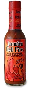 Jamaica Hell Fire 4 In 1 Hot Sauce 5 Fl Oz from AmericanSpice.com