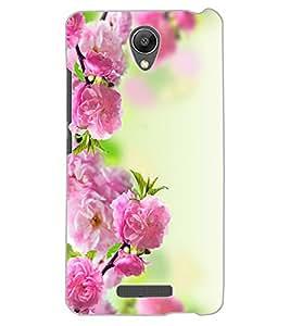 ColourCraft Beautiful Flowers Design Back Case Cover for XIAOMI REDMI NOTE 2 PRIME