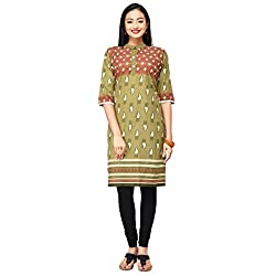 Eazy Womens Cotton Ethnic Kurti