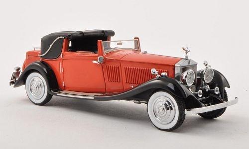 rolls-royce-phantom-ii-sedanca-coupe-gurney-nutting-64py-rojo-negro-rhd-1934-modelo-de-auto-modello-