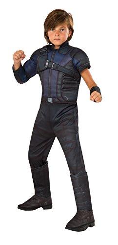 Rubie's Costume Captain America: Civil War Hawkeye Deluxe Muscle Chest Child Costume, Small