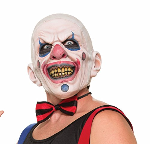 Forum Novelties Men's Twisted Clown Latex Mask