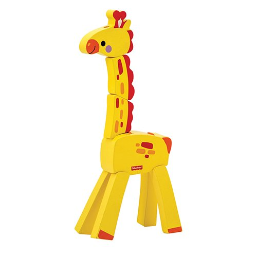 Fisher-Price My First Bending Giraffe Puzzle - 1