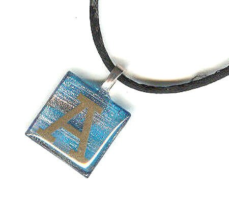 Initial Pendant Necklace -