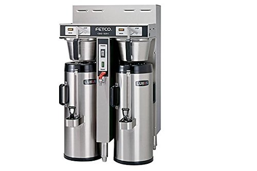 Fetco Dual 1.5 Gallon Thermal Coffee Brewer Cbs-52H-15-C52036