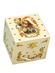 MusicBox Kingdom 28027 Musical Jewelry Box Fairy, Playing \