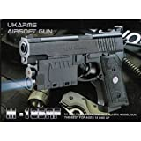 Airsoft Pistols Gun with Laser Sight Tactical Light 6mm Bb Spring Handgun