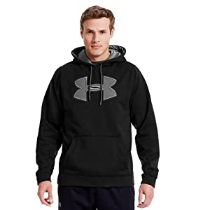 Under Armour Mens Armour® Fleece Storm Big Logo Hoodie by Under Armour