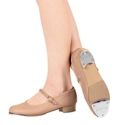 Adult Buckle Tap Shoe,T9400CAR05.5M,Caramel,05.5M