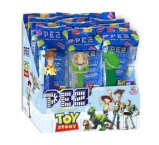 Pez Toy Story 12 Pack (12 individually wrapped pez)