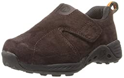 Merrell Jungle Moc Sport A/C Sneaker (Toddler),Brown/Orange,5.5 W US Toddler