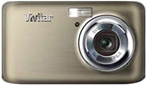 Vivitar VF128-SIL 14.1MP HD Digital Compact System Camera with 2.7-Inch LCD - Body Only (Silver)