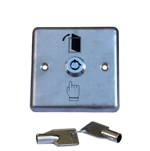 Accessori 1x chiave interruttore/-pulsante con 2chiavi Apriscatole Garage azionamento apriporta,
