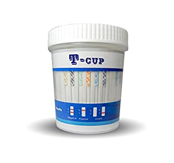 Amazon.com: Ten Panel All-In-One T-Cup Drug Test (COC